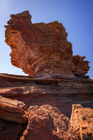 Eroded Rock at the Outback Western Australia