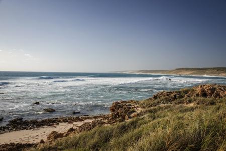 Western Australia � rough costline with blue sky Stock Photo