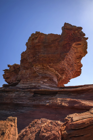 Eroded Rock at the Outback � Western Australia Stock Photo