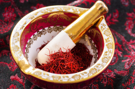 saffron Фото со стока