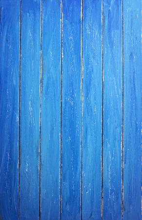 Blue Wooden Background 版權商用圖片