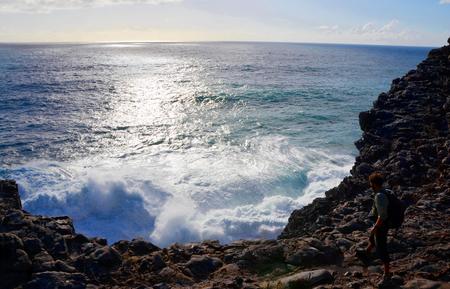Beautiful West Coast of Algarve between Praia do Amado and Cabo de Sao Vincente (Costa Vicentina)