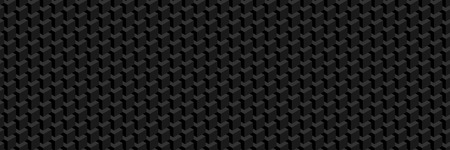 Trendy widescreen geometric background in isometric style. A wall of cubes. Seamless option.