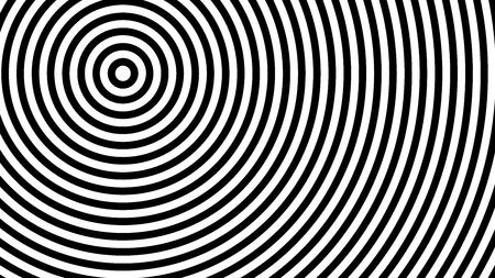 flach, modisch, stilvoll, geometrischer schwarzer und weißer abstrakter Hintergrund 1920 x 1080 px. für Interieur, Design, Werbung, Bildschirmschoner, Tapeten, Cover, Wände, Druck. Vektormuster