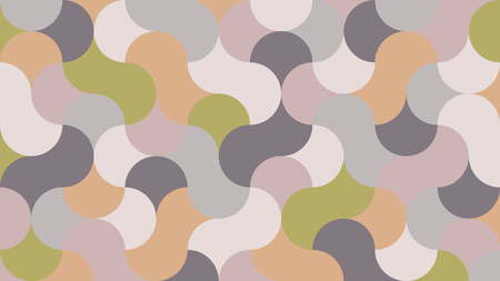 flat, fashionable geometric panel in shades almost mauve for interior, design, advertising, screen saver, covers, promotion. vector pattern Illustration