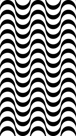 Vertical background with a wavy hypnotic stripe. The illusion of movement.