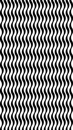 Vertical background with a wavy hypnotic stripe. The illusion of movement. Abstract hypnotic format for gadget screens.