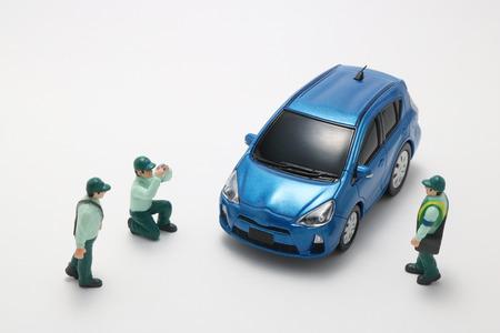 parking violation: Parking ban crackdown. Male police officers to crack down on car parking violation.