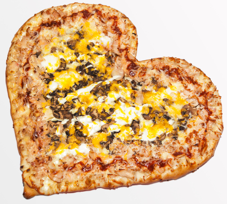 pizza, shooting various kinds of pizzas for the menu of fast food restaurant and pizzeria, fast food