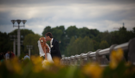 lovers, wedding photography and love stoty in the city park and at the celebration