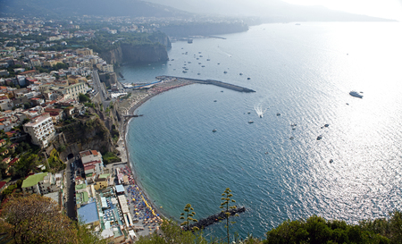 landscape and specific photos of Italy and the environs of Naples, small southern cities of Italy Stock Photo