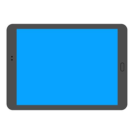 Dark tablet icon