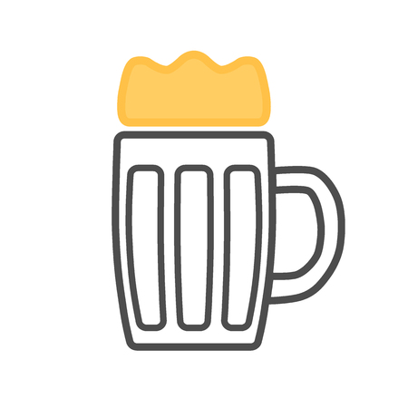 Icon of a light beer