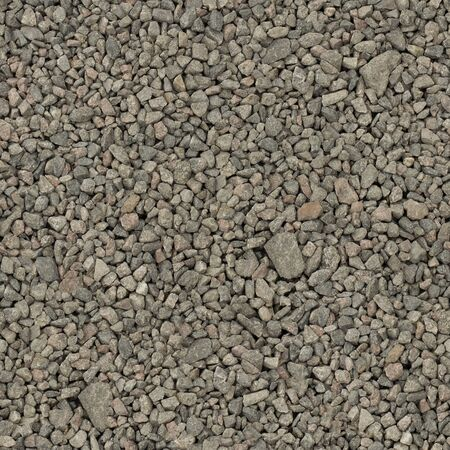 Seamless texture of gray stone granite rubble