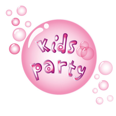 big girls: Establish with the children the invitation design concept of the party. Super holiday for boys,little Princess parties for girls and kids a big party. Baby templates party flyers. Illustration