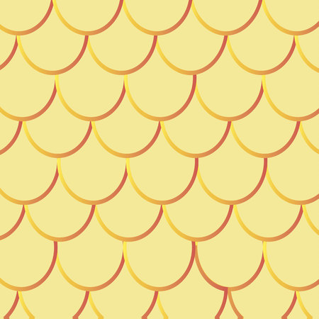 fish with scales: Fish Scales seamless pattern