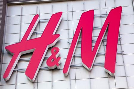 hm: Moscow, Russia - February 8, 2016: HM logo trade center building