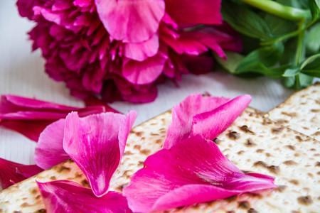 matzah: Matzo or matzah bread traditionally eaten by Jews during the week-long Passover holiday