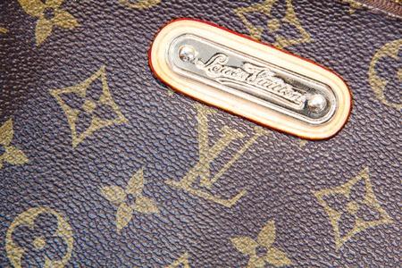 Moscow, Russia - 07 29 2016 Louis Vuitton handbag