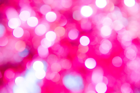 Lights on blue background. holiday bokeh. Abstract. Christmas . Festive with defocused stars Stock Photo