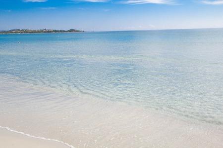 cinta: Sandy beach La Cinta near San-Teodoro, Sardinia, Italy