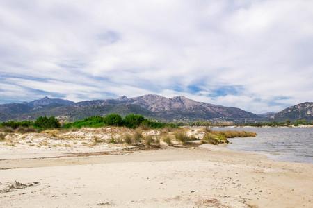 Sandy beach La Cinta near San-Teodoro, Sardinia, Italy