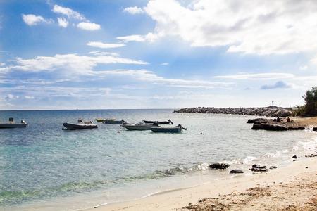 cinta: Beautiful beach La Cinta near San Teodoro, Sardinia, Italy Stock Photo