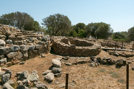 archaeological site of La Prisgiona,Arzachena,Sardinia,Italy Stock Photo