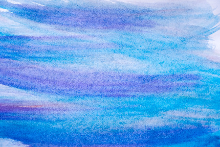paper textures: Abstract blue watercolor background