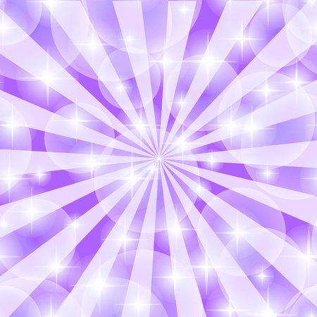 Purple abstract explosion Vector illustration. Illustration