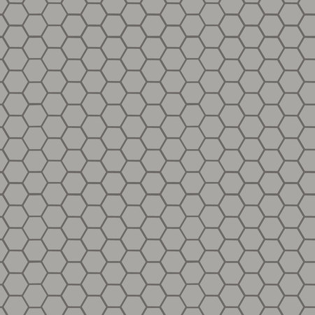 Circular honeycomb background. Elliptic gradient. Illustration