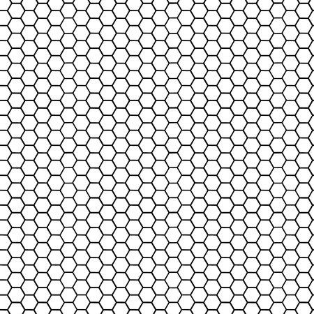 Circular honeycomb background. Elliptic gradient. Ilustração