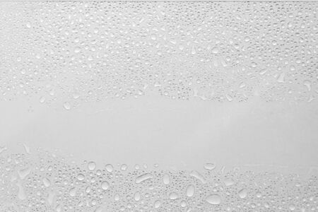 Water Drops On white Background, Texture colorful waterdrop/
