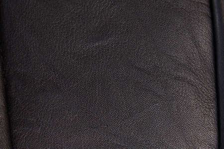 black leather texture seamless. High-resolution texture of folds. black calf leather
