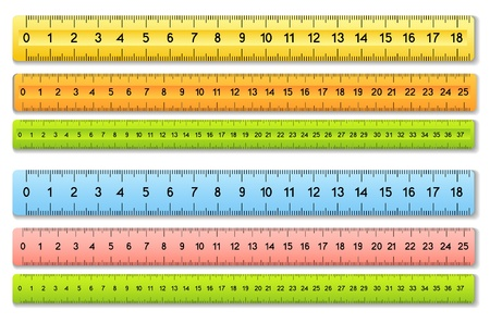 rule: The six color rulers