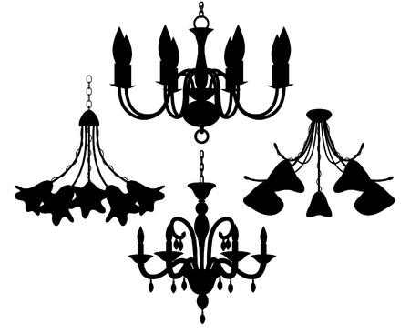 chandelier: Chandelier set
