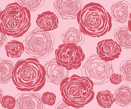 draftsmanship: The pattern from roses