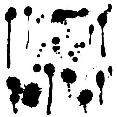 paint drop: Drops