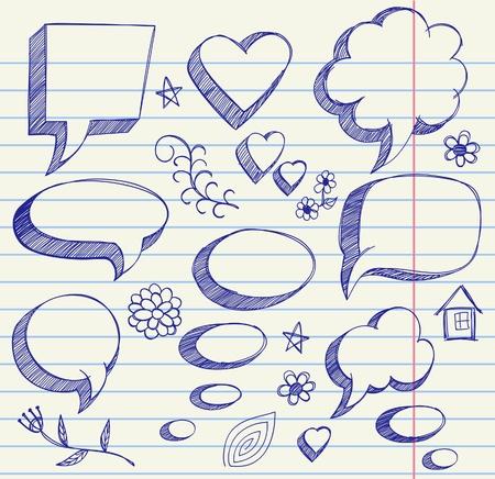 The hand drawing illustration on paper sheet Иллюстрация