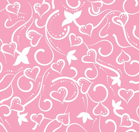 pink swirl: The valentine