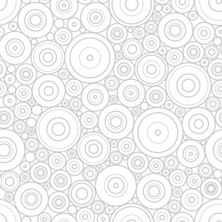 Pattern of gray circles