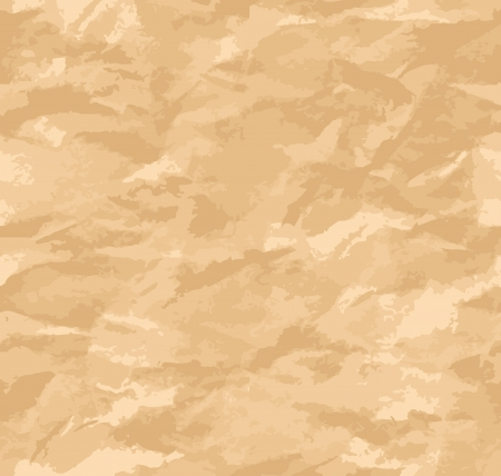 Texture of crumpled paper sheet seamless Vector
