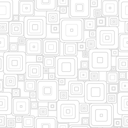Pattern of gray square Stock Vector - 15829901