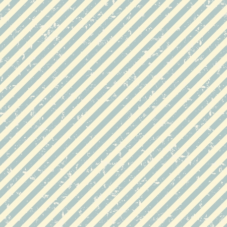 Grunge diagonal striped pattern in retro style Stock Vector - 16915050