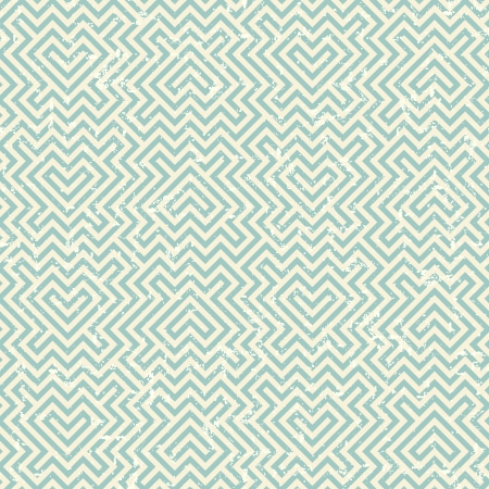 Grunge geometric striped pattern in retro style Stock Vector - 17758520