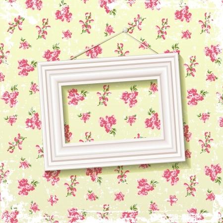 繊細な花の背景 EPS 10 の画像のフレーム ブレンド モードの使用