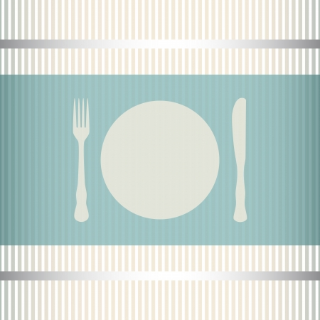 Restaurant menu background with stripes transparency used