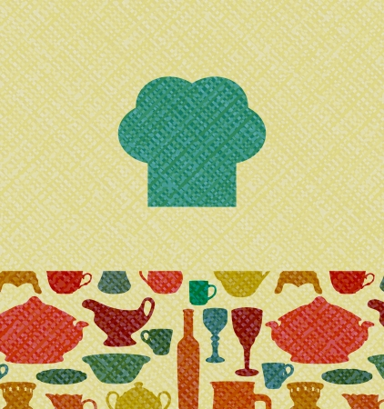 Menu background with canvas texture  EPS10 blend mode used Vector