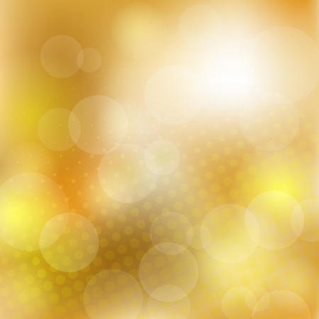 Abstract golden background with halftone   EPS10 transparency, blend mode used Vector