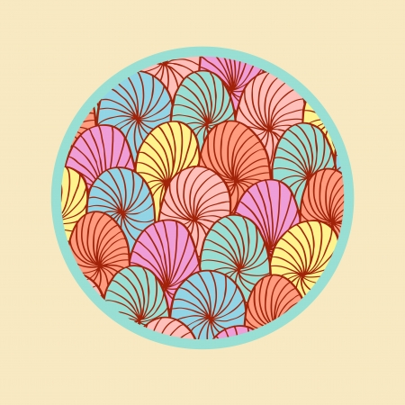 Abstract colorful round design element Stock Vector - 19267158